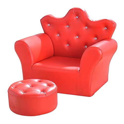 UNCTAD Infant Learning Sitz Stuhl Aus umweltfreundlichem PU-Leder für Wohnzimmer, Babyzimmer usw - Verschleißfest und rutschfest weiches Sofa