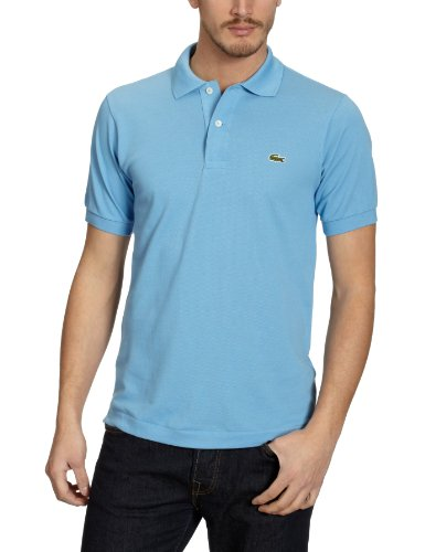 Lacoste Herren Regular Fit Poloshirt L1212, Blau (BES), XXL (Herstellergröße: 7)