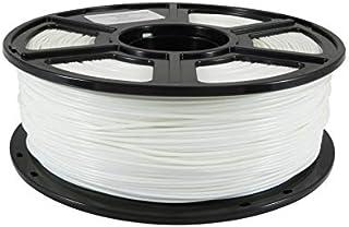 WOL 3D Flashforge ABS White Printer Filament 1.75mm