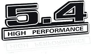Black & Chrome 5.4 High Performance Engine Emblem Logo - 5