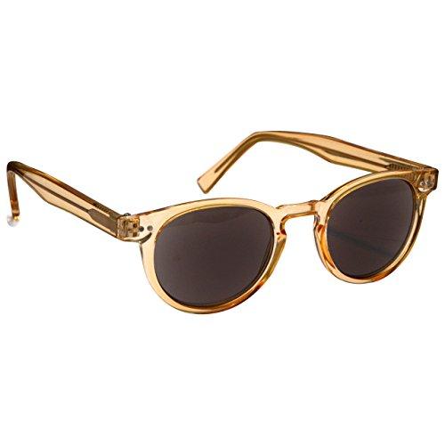 UV Reader Die Lesebrille Unternehmen Transparentee Gold Sonnen-Leser Frauen Herren UVSR089 / Transparente Gold, UVSR089-15, 1,50 Optische Leistung
