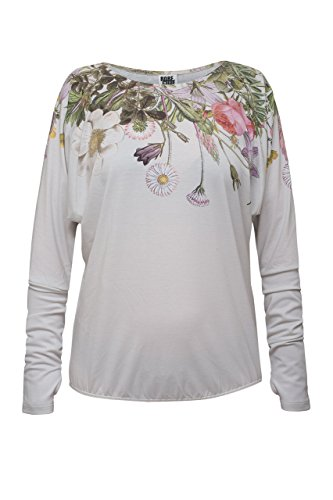 RobeCode Longsleeve Flora - Sommer Shirt, Langarm mit Blumenprint - atmungsaktiv