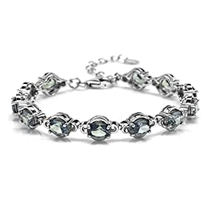 Silvershake-Simulated-Color-Change-Alexandrite-White-Gold-Plated-925-Sterling-Silver-65-to-8-Inch-Adjustable-Tennis-Bracelet