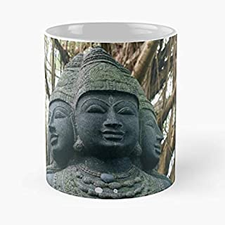 Hawaii Kauai Buddha Temple Funny Christmas Day Mug Gifts Ideas For Mom - Great Ceramic Coffee Tea Cup