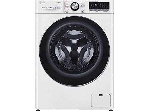LG V9 WD 96H2 Waschtrockner - 9 kg Waschen / 6 kg Trocknen - Dampf-Funktion, Weiß, 1400 U/Min