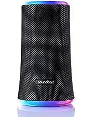 Soundcore Flare 2 Bluetooth-luidspreker, met IPX7 waterdichte bescherming en 360 ° -geluid voor achtertuin en strandfeest, 20 W draadloze luidspreker met PartyCast, EQ-aanpassing en 12 uur speeltijd