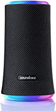 Anker Soundcore Flare 2 Bluetooth Speaker, with IPX7 Waterproof Protection and 360° Sound for Backyard and Beach Party, 20W Wireless Speaker with PartyCast, EQ Adjustment, and 12-Hour Playtime, Black