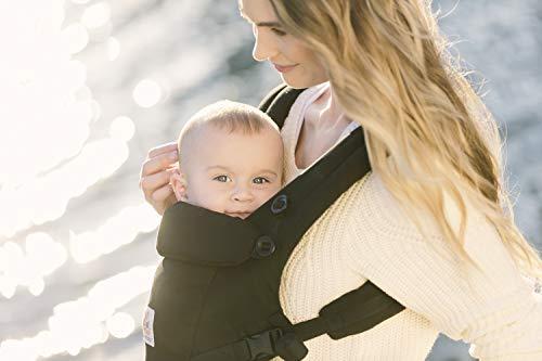 Ergobaby Mochila Portabebés Ergonomicas para Recién Nacido a 20kg, Adapt 3-Posiciones (Negro)