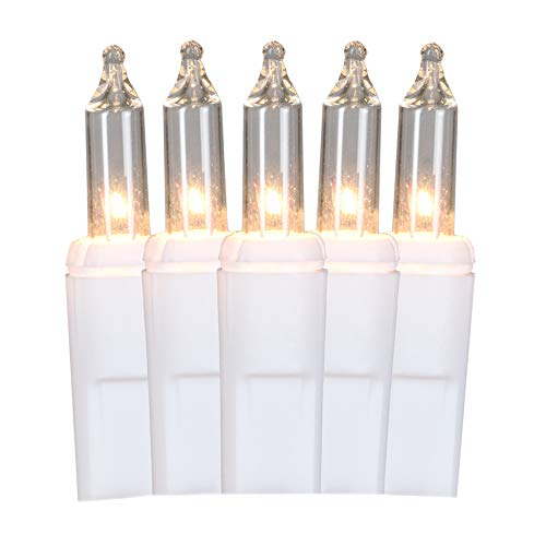 GE ConstantON 200-Count Constant White Icicle Incandescent Plug-in Christmas Icicle Lights Indoor/Outdoor