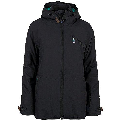 Chiemsee Damen BIRTE Snowjacket, Black, M