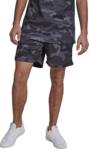 Urban Classics Camo Mesh Shorts Pantalones Cortos para Hombre