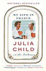 My life in France by Julia Child book cover, books set in France