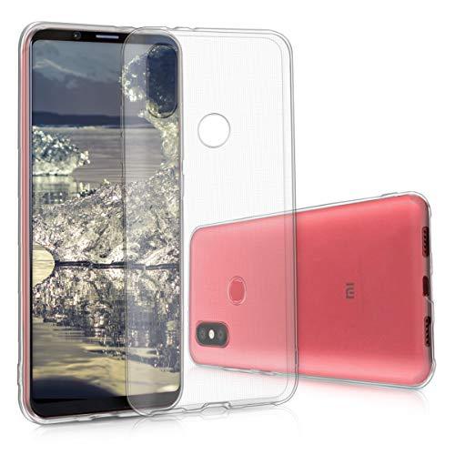 kwmobile Hülle kompatibel mit Xiaomi Mi 6X / Mi A2 - Hülle Handy - Handyhülle in Transparent