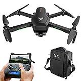 Leic Drone de Photographie SG906 Pro 2 5G WiFi 4K HD 50x caméra aérienne Trois Axes Anti-tremblement cardan GPS Suivre Les gestes des Doigts Drone avec Sac Portable