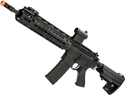 Evike CYMA Keymod-S M4 Airsoft AEG (Color Black/Polymer/Carbine Length)