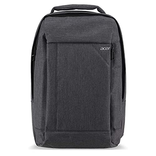"""Acer Travel Backpack (Gray), up to 15.6"""" Notebook and 10"""" Tablet, with Interior and Exterior Pockets"""
