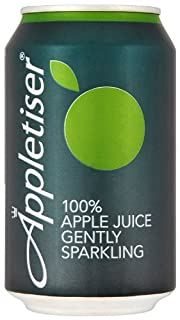 Appletiser 100% Apple Juice Gently Sparkling in Can 330 Ml (Pack of 24) (B0077PNEXQ) | Amazon price tracker / tracking, Amazon price history charts, Amazon price watches, Amazon price drop alerts