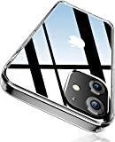 LOXXO Compatible with iPhone 12/ iPhone 12 Pro Case Clear Slim Fit Thin