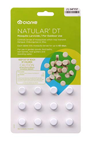 Clarke - Natular DT Mosquito Larvicide - Bi-Layer Tablet