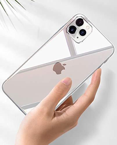 Transparent Hart Silikon Hülle Diamond Series Kratzfest Starke Stoßfestigkeit Unzerstörbare Hart Kompatibel mit iPhone 11