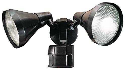 Heath Zenith HZ-5412-BZ-D Heathco Hz-5412-Bz Security Light, 120 Vac, 300 W, Halogen, Medium (E26), 150 W, Bronze
