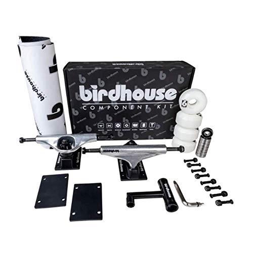 Birdhouse Kit Skate: Component Kit 5.25 Silver/Black