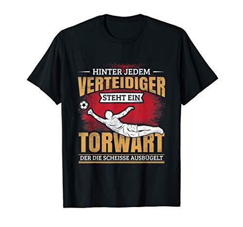 Fußball Torwart Torwartbekleidung Tormann Torhüter T-Shirt