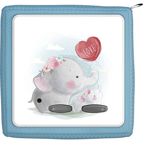 TheSmartGuard Schutzfolie passend für die Toniebox | Folie Sticker | Baby Elefant hält Luftballon Love
