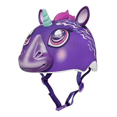 Raskullz Electric Unicorn Child Helmet (ages 5-8), Electric Purple