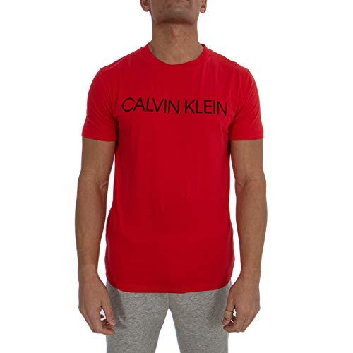Calvin Klein Short Sleeve t-Shirt Man Round Neck CK Item KM0KM00479 Crew TEE, XBG High Risk, L