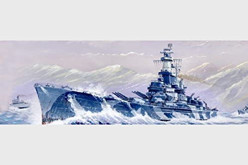 Trumpeter 1 700 - USS Alabama BB-60 by Trumpeter
