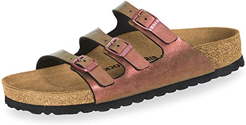 BIRKENSTOCK Sales GmbH Florida Fresh[Slippe, 37 EU, Graceful Gemm Red (1010955)