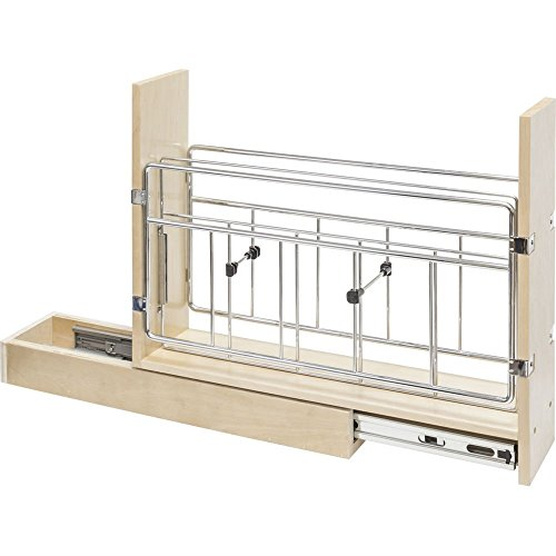 """8"""" Base Cabinet Pull-out with Built in Tray Divider Dura-close Soft-closing"""