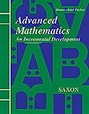 Saxon Advanced Math 2ED Homeschool Kit