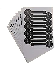 200 قطعة من ملصقات الختم المصنوعة يدويًا، ملصق لاصق يدوي الصنع لصناديق العلب