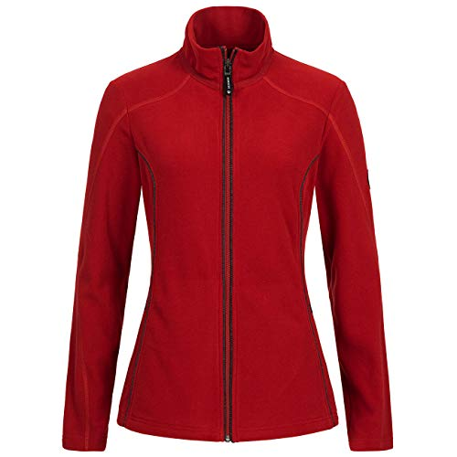 GIESSWEIN Recycled Fleece Jacke Women - warme Fleecejacke aus 100% recyeltem PET, weiche Damenjacke, Outdoor Bekleidung, Sportbekleidung