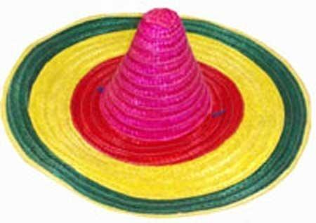 Toyland Lot de 6 -57cm Mexicain Sombrero Hat- Fancy Dress [Jouet]