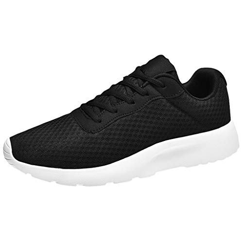 Great Deal! BIKETAFUWY Men Sports Non Slip Sneakers Students Running Shoes Breathable Lightweight Me...