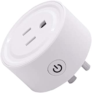 XIANGMENG eWelink Wifi Smart Control Socket,Voice Control Time Set Outlet,Compatible with Alexa/Google Assisatant,No Hub Required