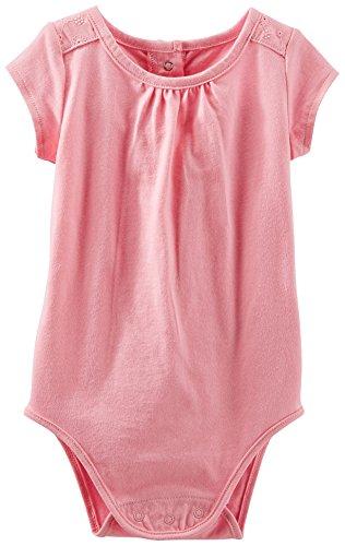 OshKosh Baby Girls Floral Eyelet Bodysuit 18 Month Pink
