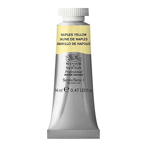 Winsor & Newton Professional Water Colour Paint, 14ml tube, Naples Yellow