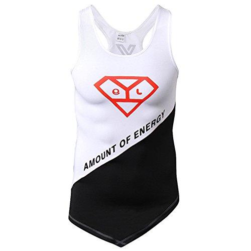 Dotbuy Tank Top Herren Muskelshirt ideal für Sport Gym Fitness & Bodybuilding Muscle Shirt, Tanktop Unterhemd Achselshirt Sportshirt