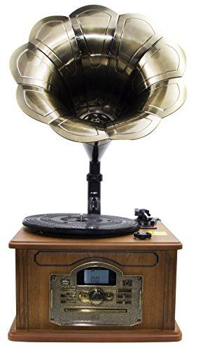 Nostalgie Retro Tocadiscos | Minicadena | equipo estéreo |