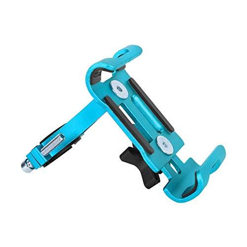 ooege OOE 1 unid Colorido Bicicleta Manillar teléfono móvil Montaje al Aire Libre montaña Bicicleta móvil navegación móvil Soporte Fijo (Color : 4 Not Rotation)