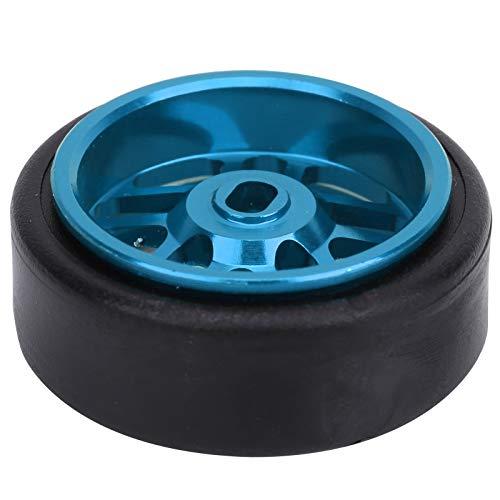 Bnineteenteam Cubo de Rueda de Metal para Coche RC, 4 Piezas 1/28 Cubos de Rueda de Coche RC 20 * 8 mm Eje de Rueda de Coche RC de aleación de Aluminio para WLtoys K969(Azul)