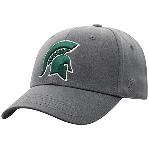 Top of the World Herren Mütze Michigan State Spartans Memory Fit Icon, Anthrazit,...