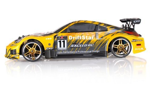 Exceed RC 1/10 2.4Ghz Electric DriftStar RTR Drift Car (Carbon Yellow)