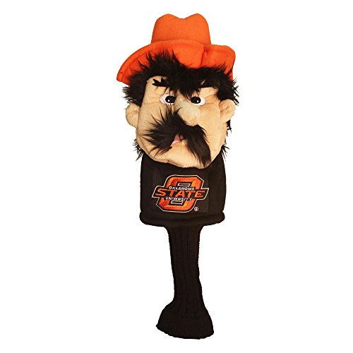 Team Golf NCAA Oklahoma State Cowboys Mascot Golf Club Headcover Fits most Oversized Drivers Extra Long Sock for Shaft Protection Officially Licensed Product