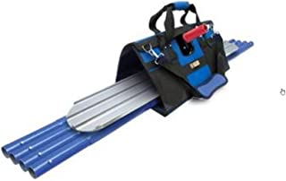 QLT By MARSHALLTOWN BFKIT9 Finisher's Tote with Round End Bull Float, Rock-It 2.0 Bracket andQLT Handles