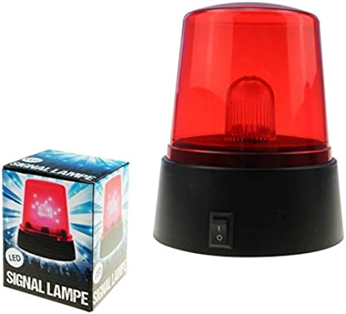 Kingdiscount 48 Stück LED Signallampe Rot Rundumlicht